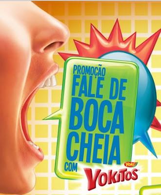 Promoção Fale de Boca Cheia- Yokitos