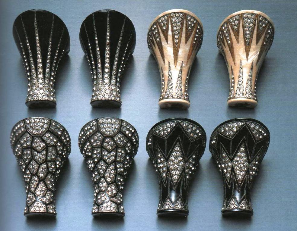 Historia de la moda y los tejidos detalles de moda los - Tocones de madera ...