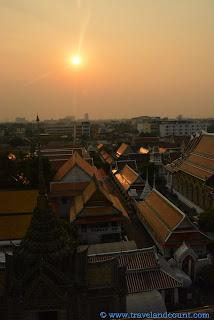 Sunset at Wat Arun