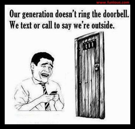 Funny door bell