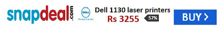 New Dell 1130 laser printers @ Rs 3255 /- OFFER