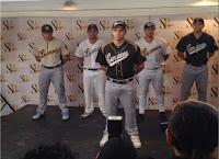 Leones, Magallanes y Tiburones presentaron sus nuevos uniformes