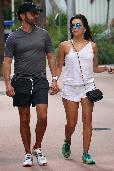 Eva Longoria and Jose Baston in Miami