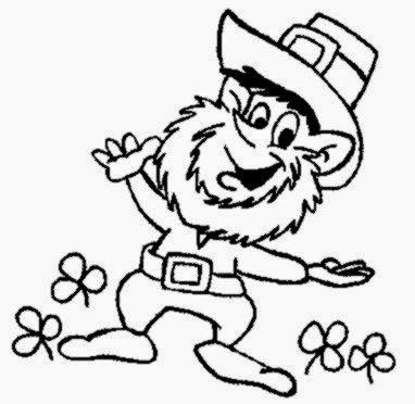 LEPRECHAUN COLORING PAGES Coloring Pages Printable