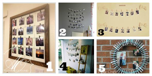 Mollette dal bucato alla decorazione - Vi si confezionano tappeti da appendere al muro ...