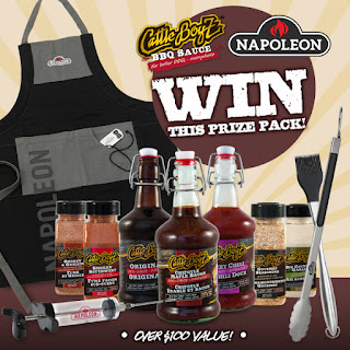 Enter the CattleBoyZ BBQ & Napoleon Grills Giveaway. Ends 10/31