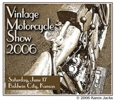 Vintage Motorcycle show from 2006