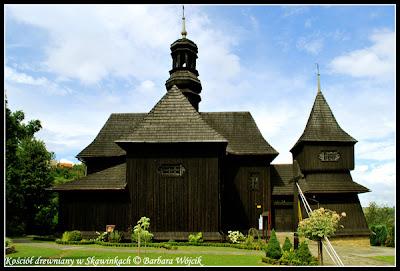 drewniany kościół w skawinkach