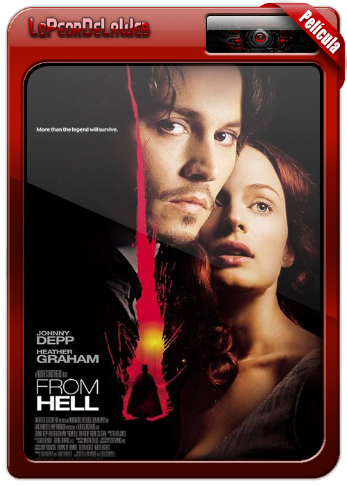 From Hell (2001) | Desde el Infierno 720p Dual Mega