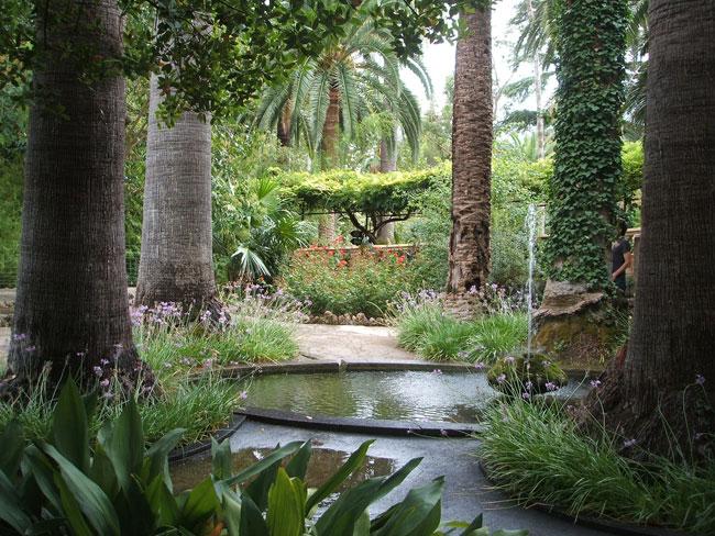 Jardines de Alfabia en Mallorca (parte I)  paisaje libre