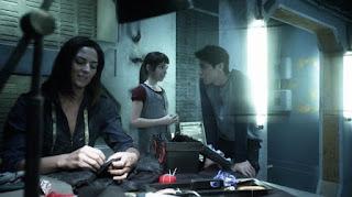 Aurora, Octavia, and Bellamy Blake