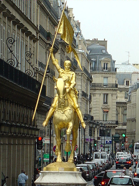 Fr Miet 39 S Joan Of Arc Claims Victory In Paris France