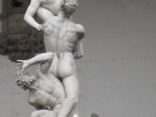 Florence, Piazza della Signoria, near Uffizi