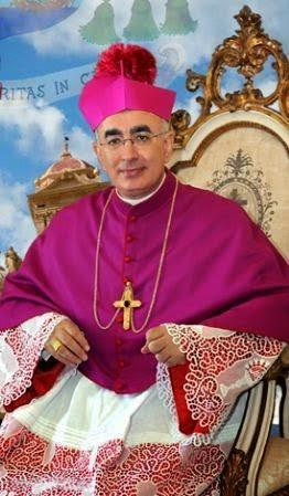 Il Vescovo Mons. Antonio Staglianò
