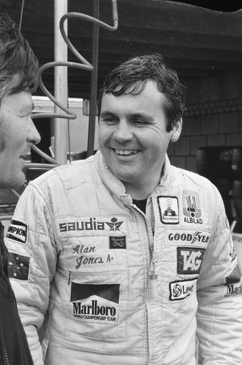 Alan Jones Race Car Driver