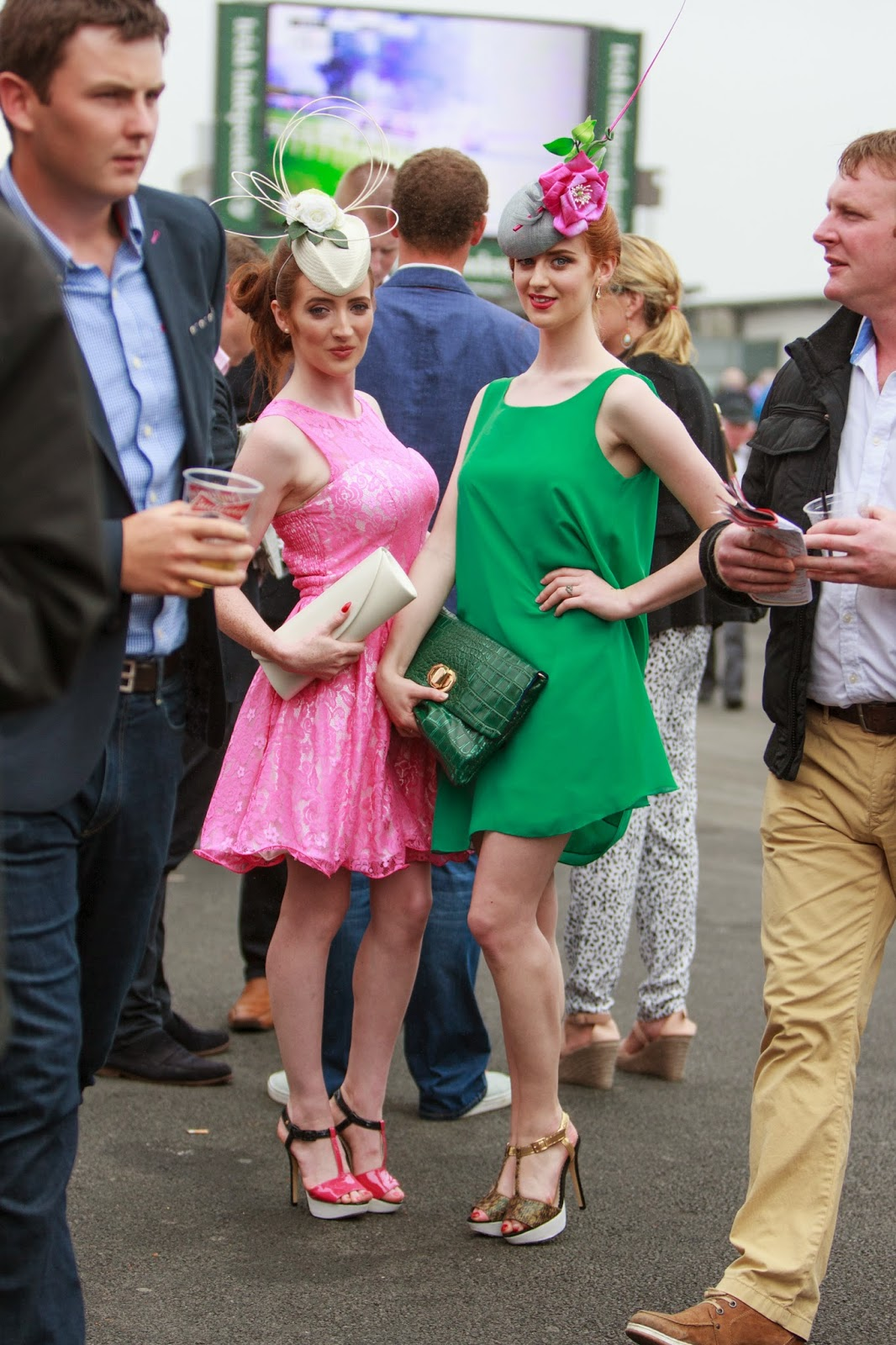 Cassery sisters Galway Races 2014