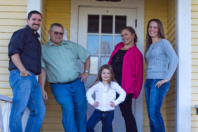sassy family photo