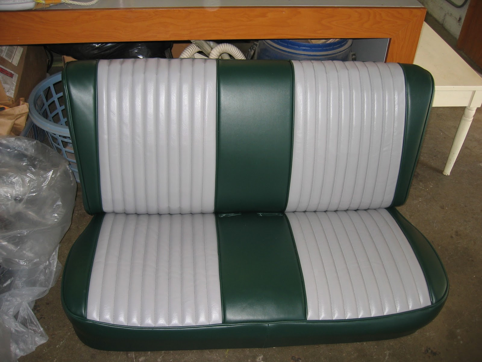 Homestyle custom upholstery and awning pickup
