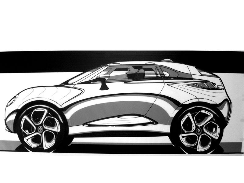 tape car drawing in side view car design education tips. Black Bedroom Furniture Sets. Home Design Ideas