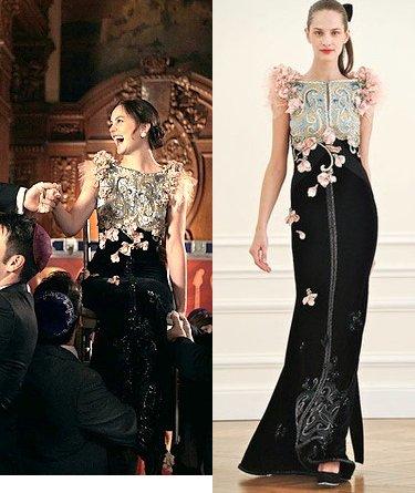Style by Sarah: The Wrong Goodbye: Blair Waldorf's Dress!