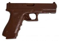 pistola de chocolate