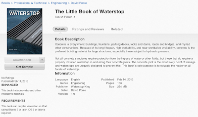 The Little Book of Waterstop in the iTunes Store