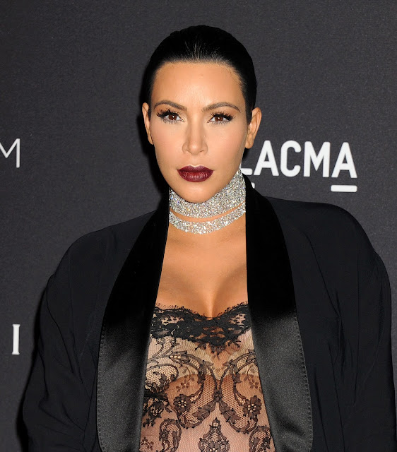 Actress, Model @ Kim Kardashian attends LACMA 2015 Art+Film Gala, at LACMA in Los Angeles