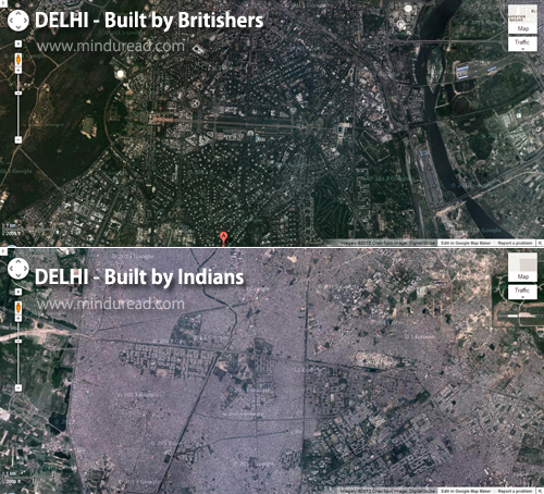 Delhi City Satellite Map - Kartik Dayanand - Mind u Read