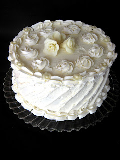 January new+057a White Chocolate Cranberry Birthday Cake