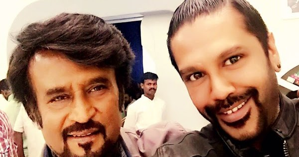 Rocky Star is styling Rajnikanth for Robot 2