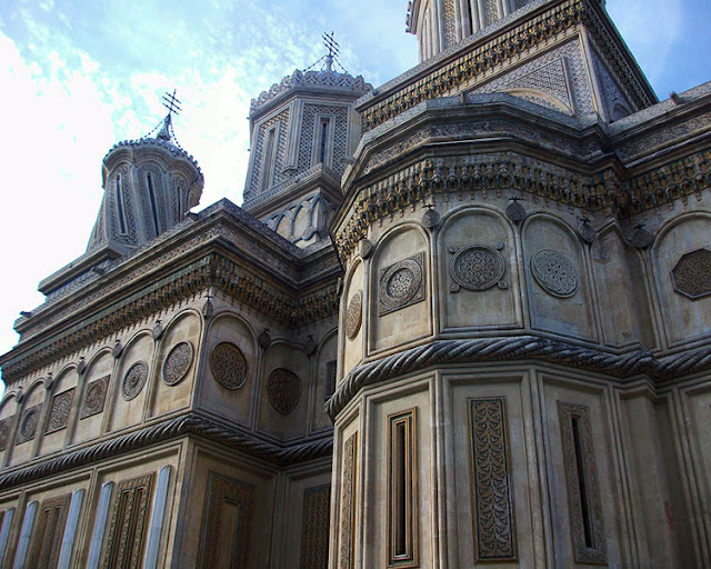 The Cathedral of Curtea de Argeș - Romani