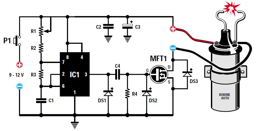 Comment tester un condensateur dallumage - Comment tester un circuit electronique ...