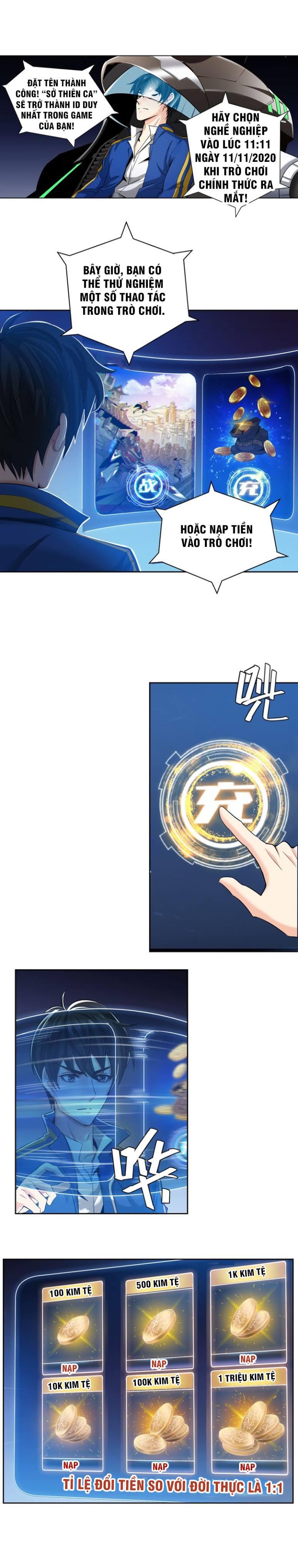 Rich Player - Người Chơi Khắc Kim chap 2 - Trang 5