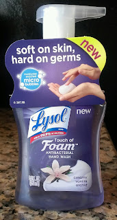 Laurel Likes It Lysol Touch of Foam Soap