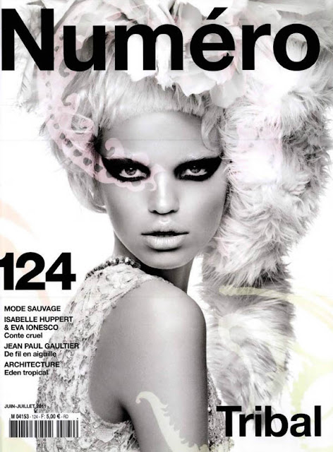 daphnecover Numéro #124 June/July 2011 Cover | Daphne Groeneveld by Greg Kadel
