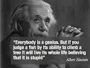 Life Quotes. Everybody is a genious. But if you judge a fish by its ability . (life images englishsmsquotes)