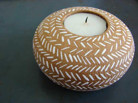 handmade candleholder