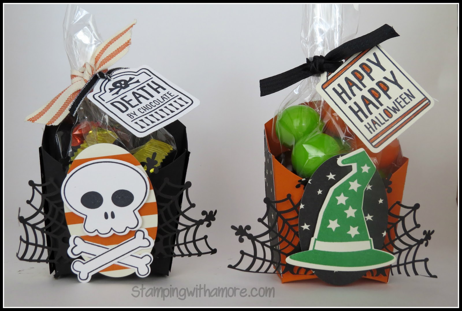 halloween fry box treat holder - Halloween Treat Holders