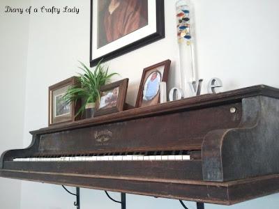 Dishfunctional Designs: The Salvaged & Repurposed Piano