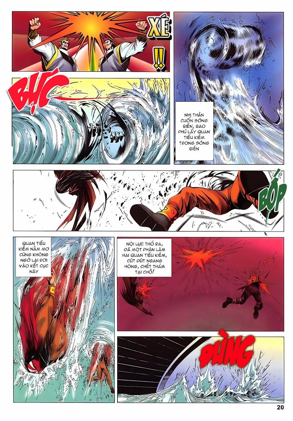 Lục Đạo Thiên Thư chap 15 - Trang 20