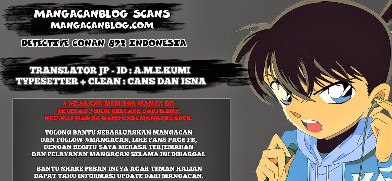 Dilarang COPAS - situs resmi www.mangacanblog.com - Komik detective conan 872 - wanita merah 873 Indonesia detective conan 872 - wanita merah Terbaru |Baca Manga Komik Indonesia|Mangacan
