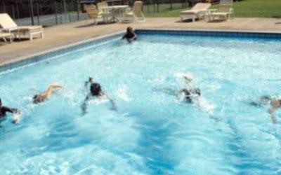 swimming poll