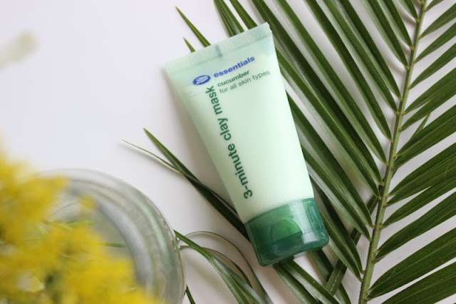 Boots Essentials Cucumber 3 Minute Clay Mask