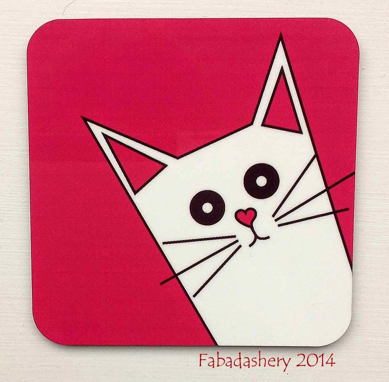 www.giddysprite.com Cat coaster