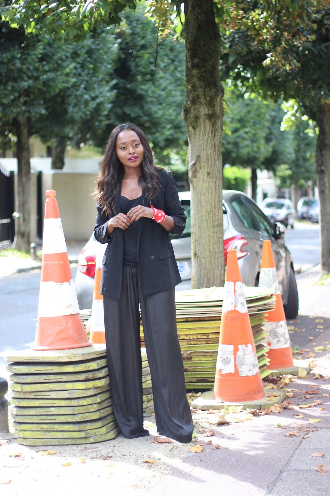blogueuse mode, pantalon large,