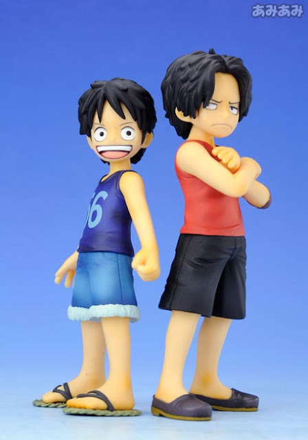 One Piece Luffy Ace figures