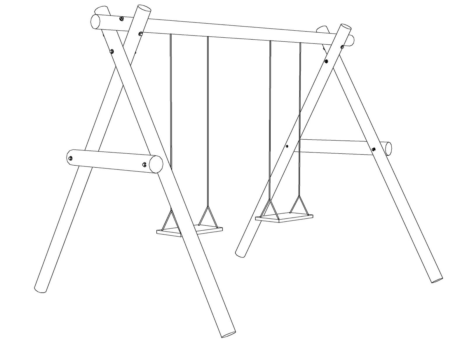 Costruire facile come costruire un 39 altalena in legno - Come costruire un tavolo in legno ...