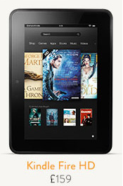 Kindle Fire HD is more expensive in the UK than the US!