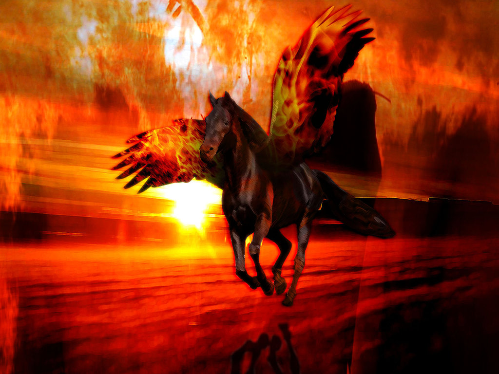 Image result for fire horse