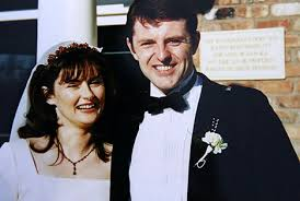 Linda McQueen with Gerry McCann